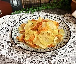 椒盐土豆片#春季减肥,边吃边瘦#的做法