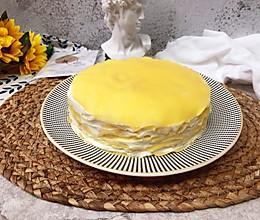 奶香浓郁,口感绵密的榴莲千层蛋糕的做法