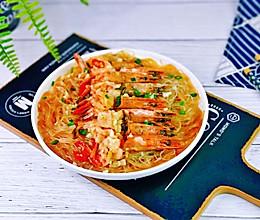 #餐桌上的春日限定#蒜蓉粉丝蒸黑虎虾的做法
