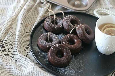 古典巧克力甜甜圈蛋糕#厉害了我的零食#
