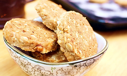 营养燕麦饼干 特别耐饱的做法