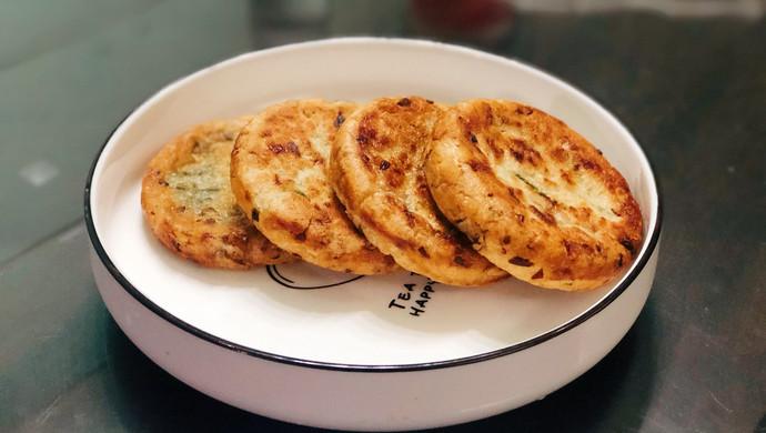 """葱油饼 (闽南小吃""""咸果"""")"""