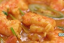 椰香咖喱虾的做法