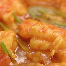 椰香咖喱虾