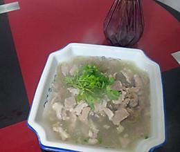 清汤粉丝羊肉的做法