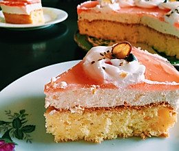 镜面草莓芝士慕斯蛋糕的做法