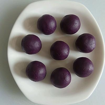 自制万能馅料[紫薯馅]