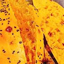 南瓜切片面包