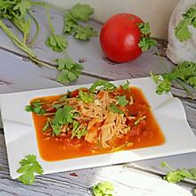 #秋天怎么吃#茄汁金针菇