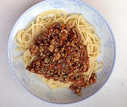黑椒肉酱意面的做法