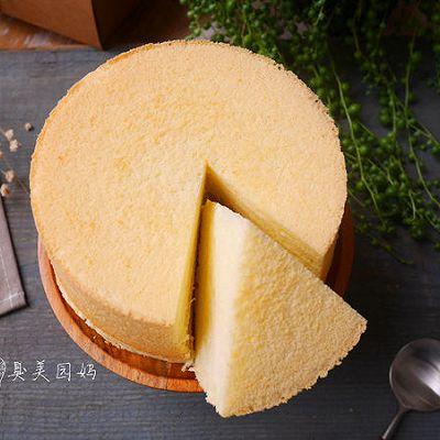 柔软细腻的奶酪炼乳蛋糕
