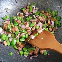 快手早餐——蔬菜烘蛋的做法图解2