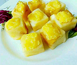 黄油苹果立方的做法