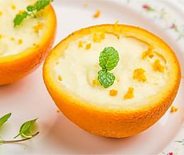 香橙布丁的做法