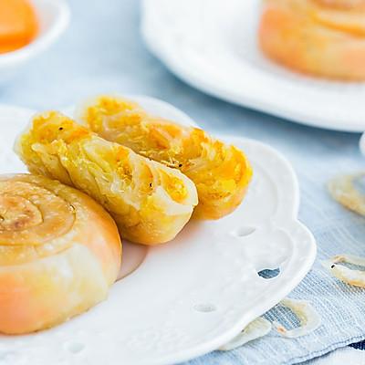 虾皮胡萝卜饼