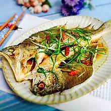 #硬核菜谱制作人#广式清蒸黄鱼