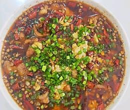 麻辣水煮肉片的做法