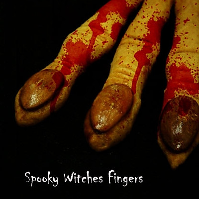 女巫手指饼干Spooky Witches Fingers