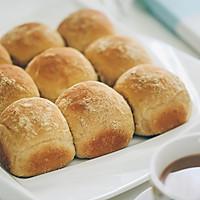 低脂低糖黄豆粉挤挤小面包的做法图解8