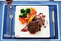简简单单更美味——红酒牛排#拉歌蒂尼菜谱#的做法