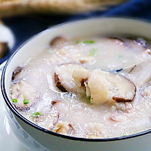 营养香菇滑鸡粥,用剩饭也能做粥