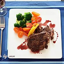简简单单更美味——红酒牛排#拉歌蒂尼菜谱#