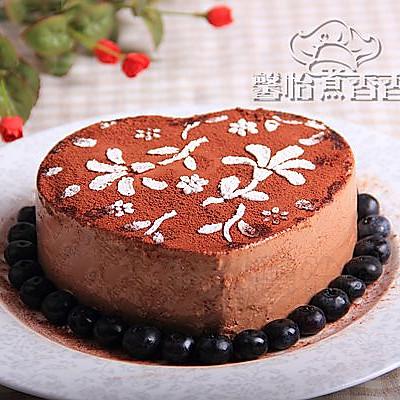平平淡淡才是真---酸奶巧克力慕斯蛋糕