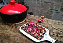 砂锅版手工玫瑰阿胶糕的做法