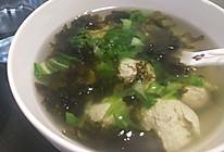 鸡肉丸汤的做法