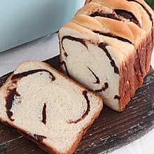 #安佳食力召集,力挺新一年#面包机版豆沙吐司,柔软细腻又香甜