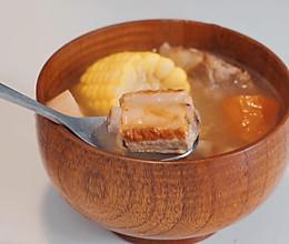 冬季|经典玉米莲藕排骨汤的做法