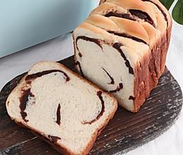 #安佳食力召集,力挺新一年#面包机版豆沙吐司,柔软细腻又香甜的做法