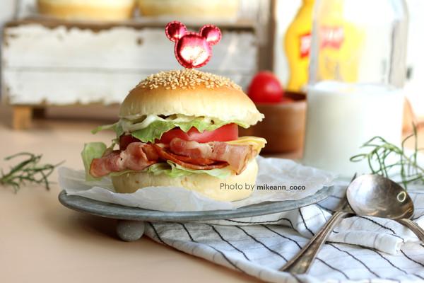 早餐必不可少的[自制百搭汉堡胚]的做法