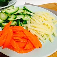 蒸大虾沙拉(大长今剧中料理改良)的做法图解2