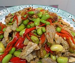 出自湖南妹子 谭氏 豆子炒肉 家常菜的做法