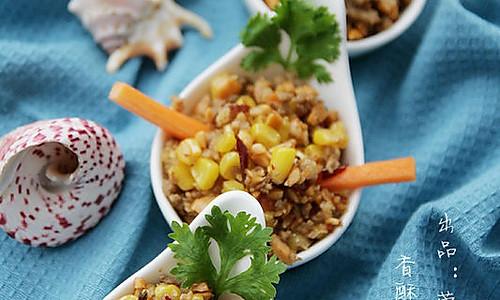 香辣肉沫玉米的做法