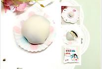 雪媚娘(易小焙雪莓娘预拌粉版本)——奥利奥和蓝莓酱口味的做法