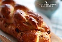 【无黄油版】麻花藤面包的做法