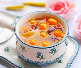#餐桌上的春日限定#养颜润肺止咳化痰的金桔雪梨银耳羹的做法