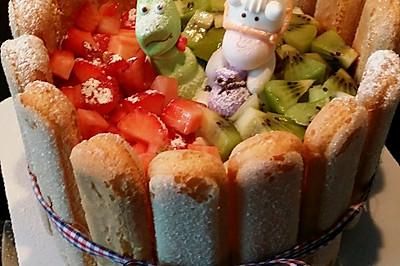 戚風水果蛋糕