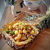 泰式鲜虾咖喱菠萝饭的做法图解9