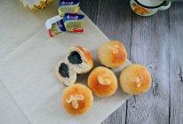 """#""""佳""""节好滋味#黑芝麻奶酪馅儿香蕉小面包的做法"""