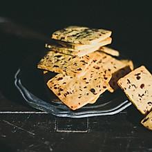 #年味十足的中式面点#最酥脆的蔓越莓饼干——玉米面蔓越莓饼干