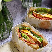 快手三明治:丰盛的10分钟早餐~