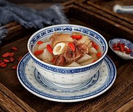 山药羊肉汤#新年开运菜,好事自然来#的做法