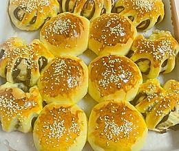 #换着花样吃早餐#徒手做松软烤面包的做法