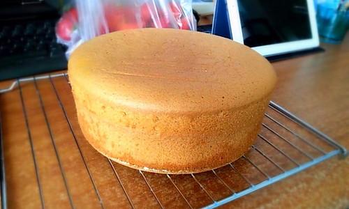 初学者的8寸戚风蛋糕的做法