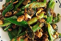 猪油渣青椒炒皮蛋的做法