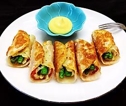 芦笋土豆培根卷的做法