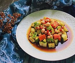 #爽口凉菜,开胃一下!#巧拌土黄瓜的做法